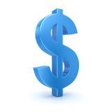 Sinal de dólar Imagem de Stock