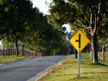 Sinal de estrada Imagens de Stock Royalty Free