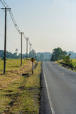 Sinal de estrada Foto de Stock