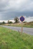 Sinal de estrada BRITÂNICO dos serviços da estrada fotos de stock royalty free
