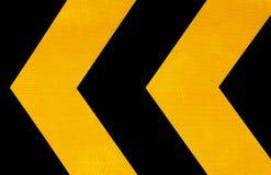 Sinal de estrada da atenção Imagem de Stock