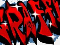 Sinal de Graffitti Foto de Stock Royalty Free