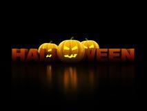 Sinal de Halloween Fotos de Stock