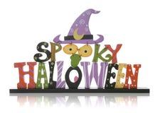 Sinal de Halloween Foto de Stock
