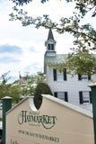 Sinal de Haymarket Virgínia Foto de Stock Royalty Free