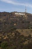 Sinal de Hollywood. imagem de stock