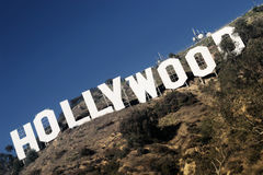 Sinal de Hollywood Foto de Stock