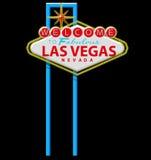 Sinal de Las Vegas Fotografia de Stock Royalty Free