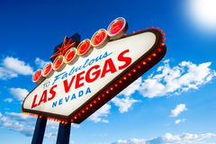 Sinal de Las Vegas Imagens de Stock Royalty Free
