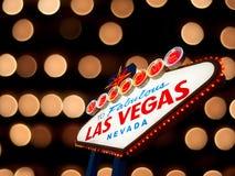 Sinal de Las Vegas Foto de Stock