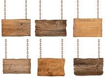 Sinal de madeira fotos de stock
