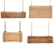 Sinal de madeira foto de stock
