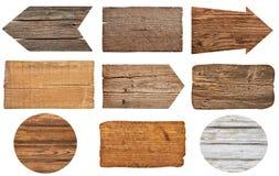 Sinal de madeira fotografia de stock