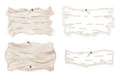 Sinal de madeira Foto de Stock Royalty Free