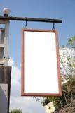 Sinal de madeira da loja. útil para sua propaganda Fotos de Stock