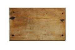 Sinal de madeira vazio foto de stock