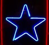 Sinal de néon Fotografia de Stock Royalty Free