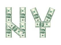 Sinal de New York Imagem de Stock Royalty Free