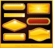 Sinal de néon do casino Fotografia de Stock Royalty Free