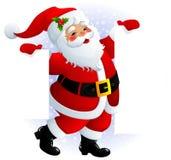 Sinal de Papai Noel Imagem de Stock Royalty Free