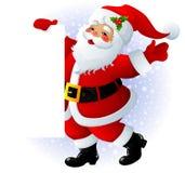 Sinal de Papai Noel Imagem de Stock