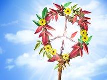 Sinal de paz Imagem de Stock Royalty Free