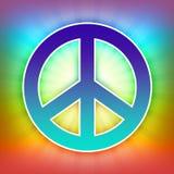 Sinal de paz Imagem de Stock