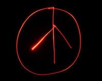 Sinal de paz pintado luz Foto de Stock Royalty Free