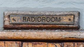 Sinal de rádio da sala Imagem de Stock
