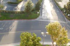 Sinal de rua de Califórnia Foto de Stock