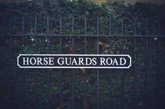 Sinal de rua inglês Fotos de Stock Royalty Free