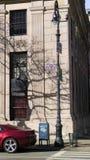 Sinal de rua para a avenida do parque em New York City foto de stock