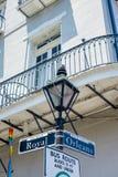 Sinal de rua real Fotos de Stock