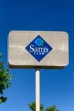 Sinal de Sam's Club Imagem de Stock