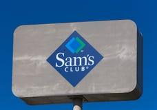 Sinal de Sam's Club Foto de Stock Royalty Free