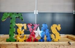 Sinal de TEXAS Fotos de Stock Royalty Free