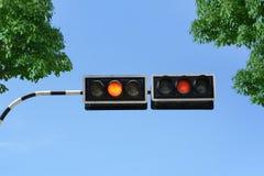 Sinal de tráfego Fotografia de Stock
