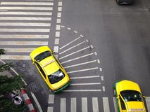 Sinal de tráfego da rua de Banguecoque Imagem de Stock Royalty Free