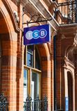 Sinal de TSB, banco de poupança do depositário Imagem de Stock Royalty Free