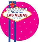 Sinal de Vegas Foto de Stock Royalty Free