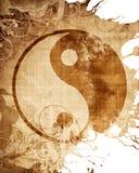 Sinal de Yin yang Fotos de Stock