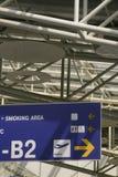 Sinal do aeroporto Imagens de Stock