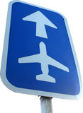 Sinal do aeroporto Imagens de Stock Royalty Free