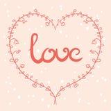 Sinal do amor Fotos de Stock