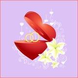 Sinal do amor Foto de Stock Royalty Free