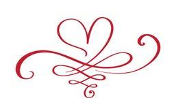 Sinal do amor do coração para sempre O símbolo romântico da infinidade ligado, junta-se, paixão e casamento Molde para a camisa d Imagens de Stock Royalty Free
