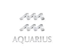 Sinal do Aquarius Imagens de Stock Royalty Free