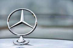 Sinal do carro do vintage de Mercedes de Alemanha Imagens de Stock