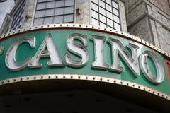 Sinal do casino Imagem de Stock Royalty Free