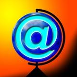 Sinal do correio Imagens de Stock